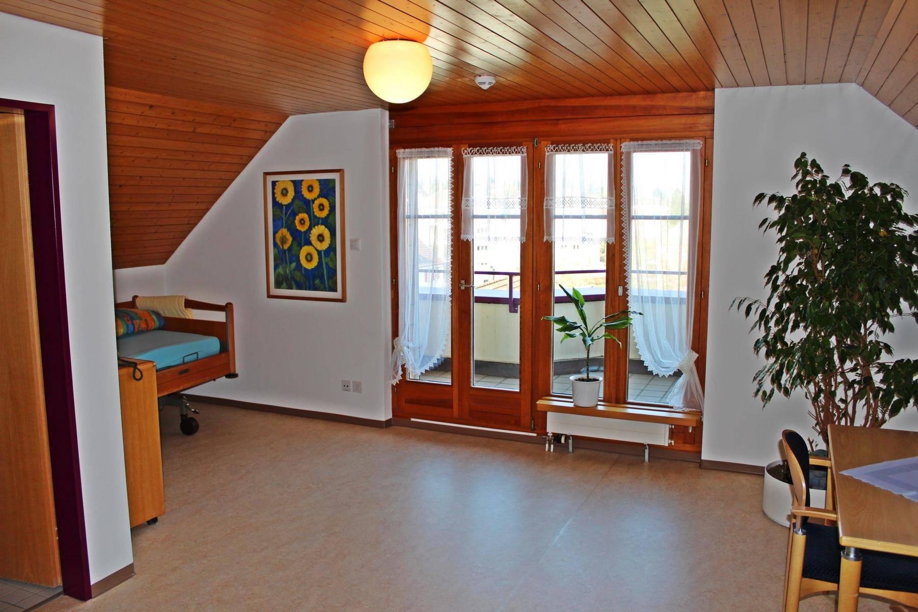 Bindersgarten Tägerwilen Pflegeferien Zimmer