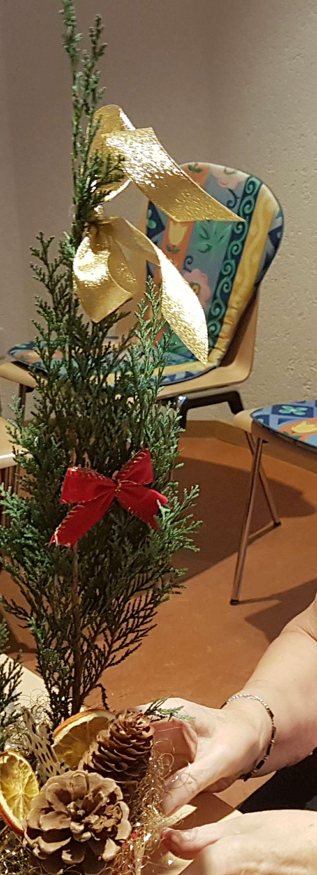 Weihnachsdekorationen basteln 1