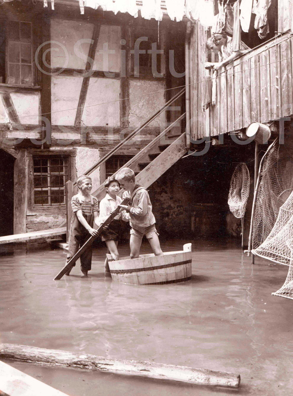 Land unter - Bootsfahrt in Gottlieben