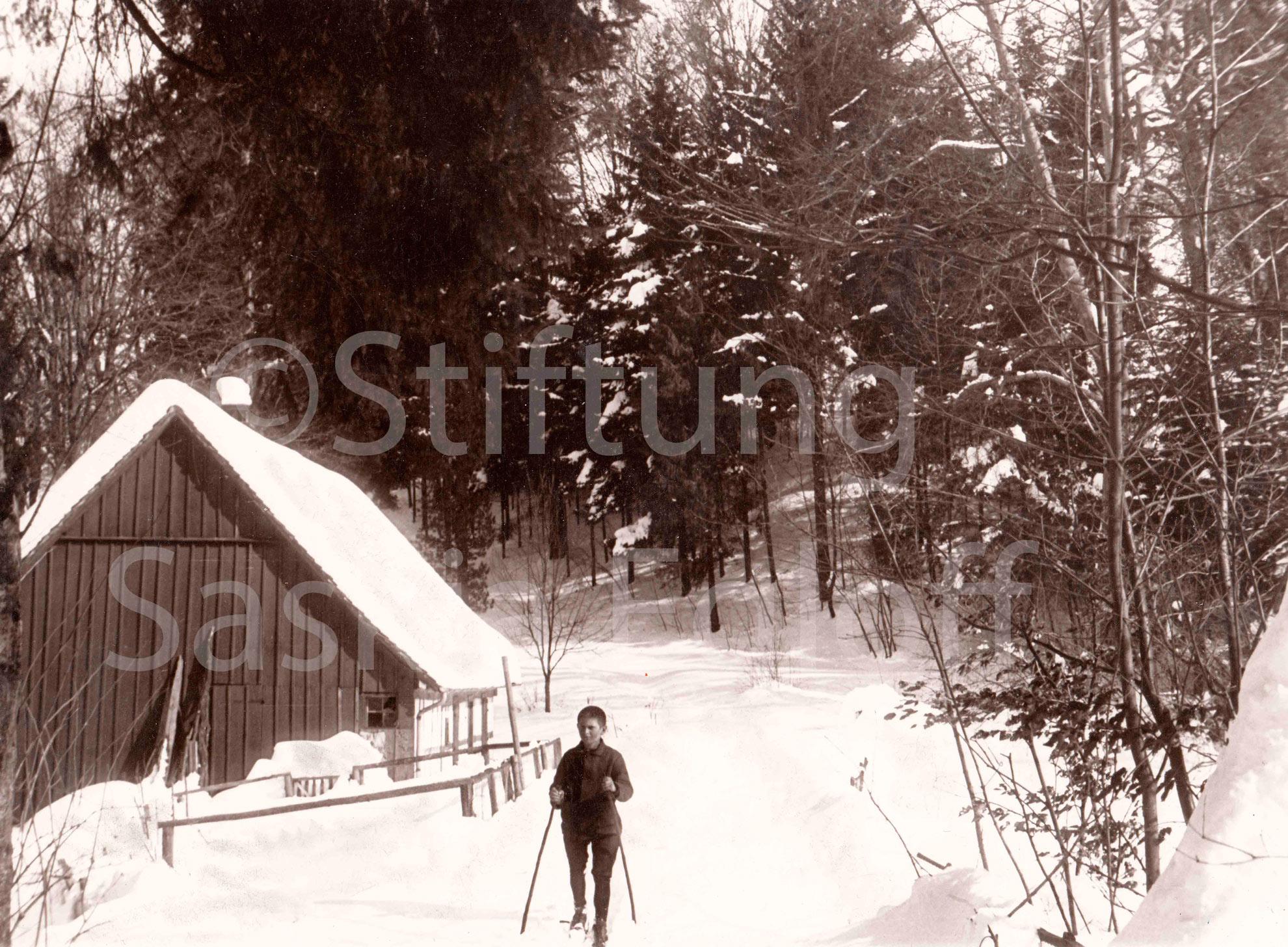 Skilaufen beim Schwanenhüsli / Schwanenteich