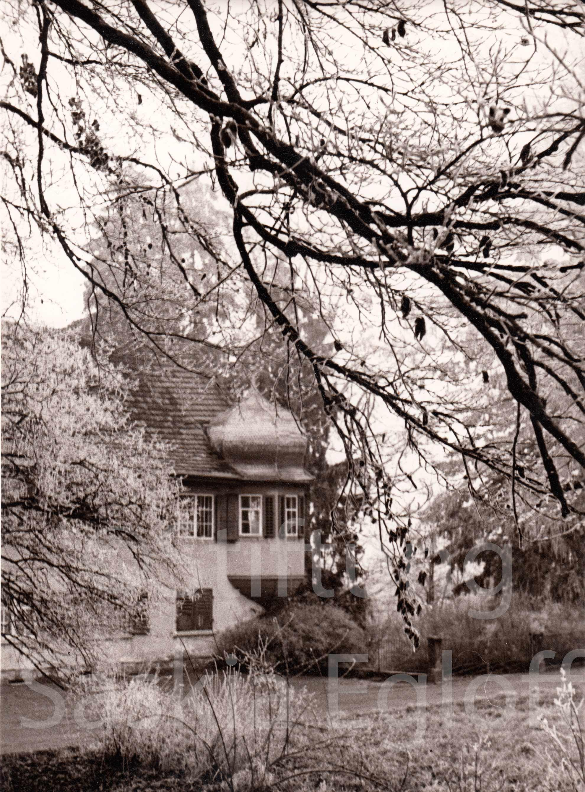 Oekenfiner Haus mit Erker