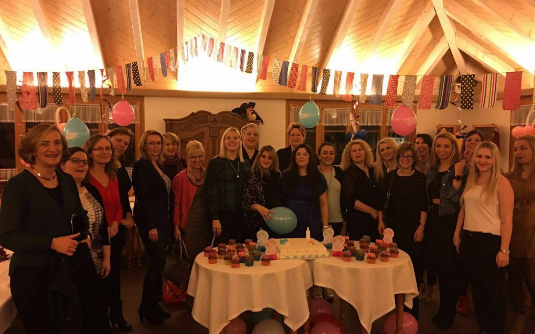 Babyparty im Bindersgarten