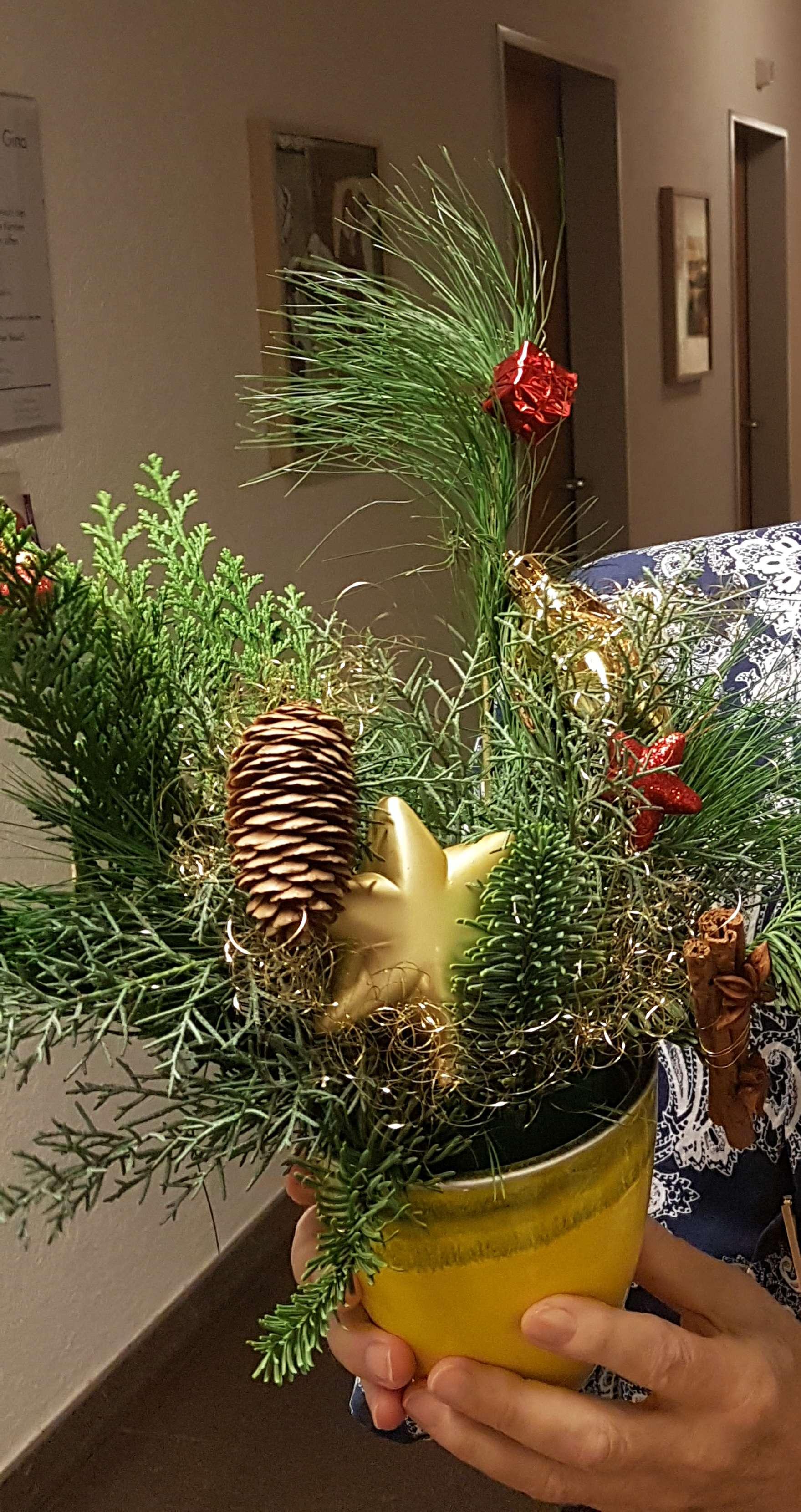 Weihnachsdekorationen basteln 3