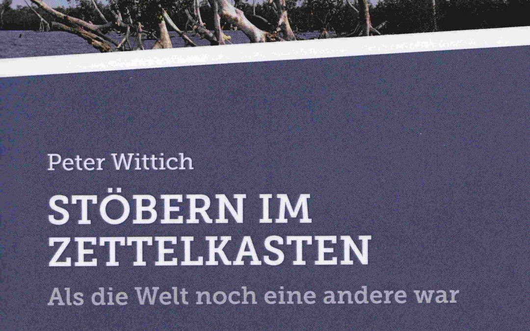 Peter Wittich im Bindersgarten – En alte Gottlieber verzellt us sim Läbe….