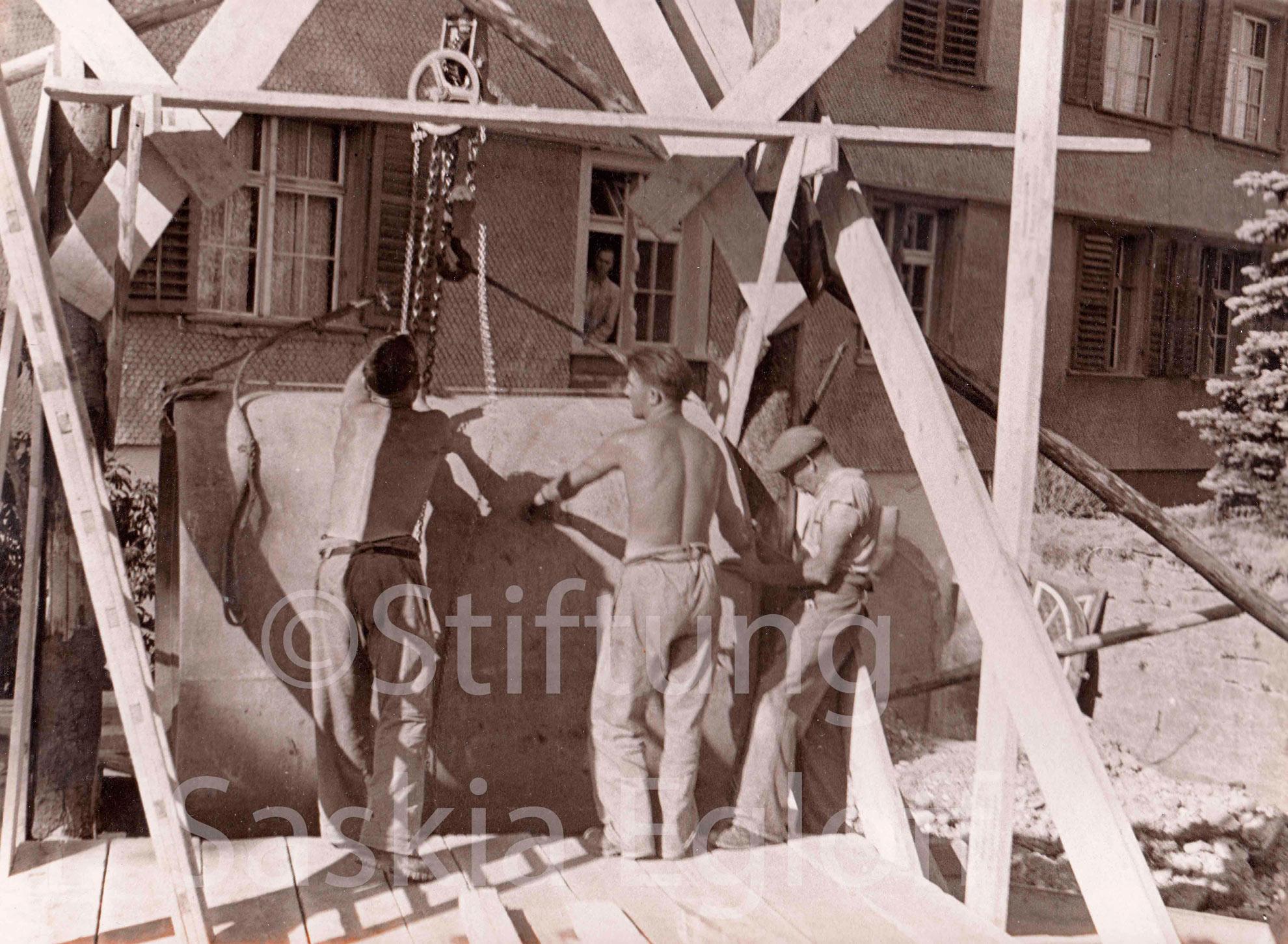 Bauarbeiten an der Bahnhofstrasse<br><br>