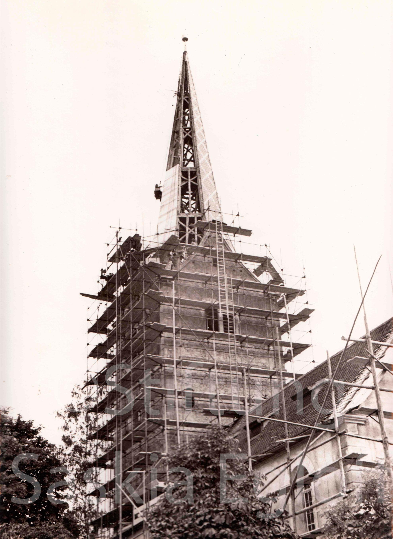 Renovation Evangelische Kirche